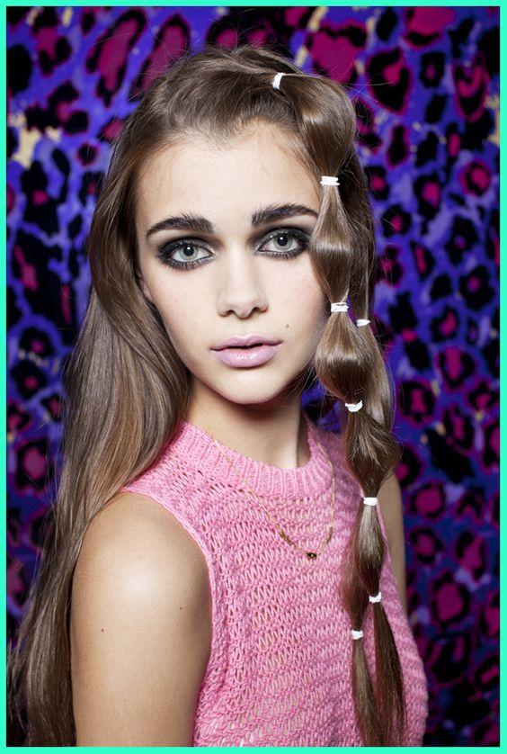 eyes and hair