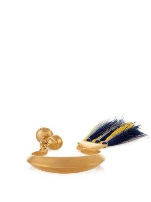 Janis tassel-charm cuff | Chloé | MATCHESFASHION.COM