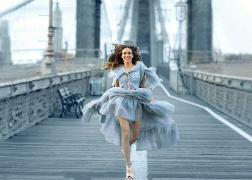 Katie, Can we go back to NY and have a photo shoot on the Brooklyn bridge