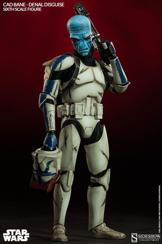 Pré-Encomenda:  Star Wars Action Figure 1/6 Cad Bane in Denal Disguise 30 cm  Para mais informações clica no seguinte link: http://buff.ly/1rz6Wk1  #ToyArt #SideshowCollectibles #SW #StarWars