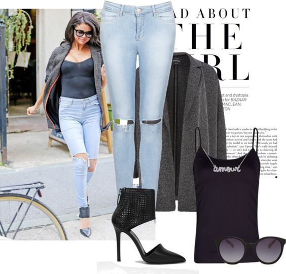 """selena marie"" by kissedwishes on Polyvore"
