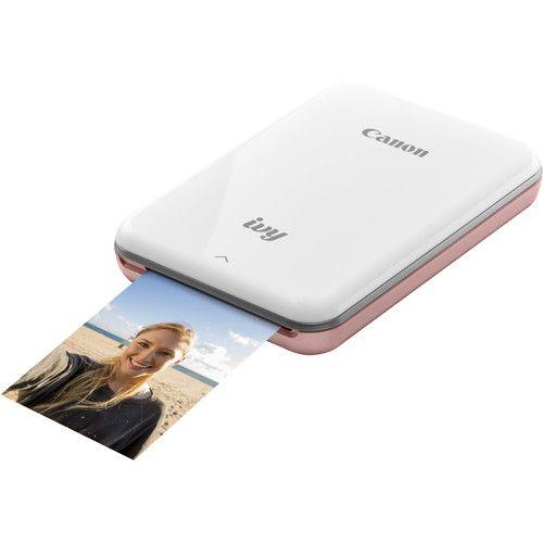 Canon Ivy Mini Smartphone Printer Rose Gold Mobile Photo Printer Mini Printer Photo Printer