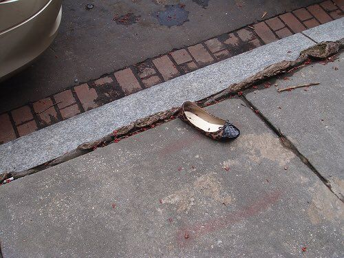 """REGATED on Twitter: """"Photo of Hillary Clinton's shoe after Medical Episode at…"""