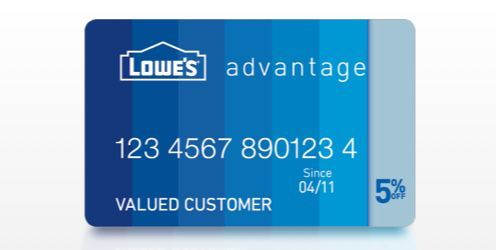 With Its Distinct Benefits The Lowe S Advantage Card Makes It