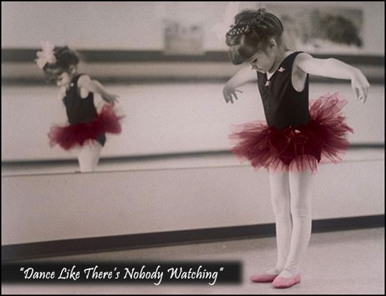 Next month she will be 3...so that means time to put her in Dance :)