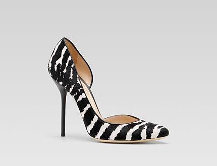 zebra shoes Gucci