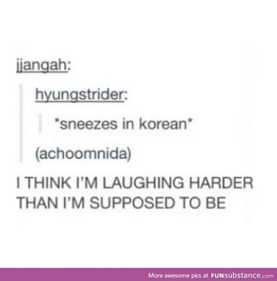 I don't even know why I laughed