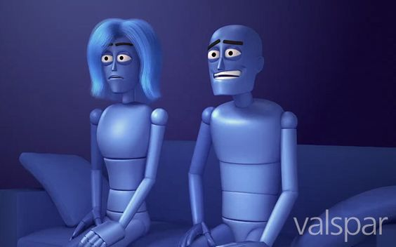 These are two characters from a Valspar commercial that we did. Check out our work by clicking the link below.  http://www.realfxdigital.com/