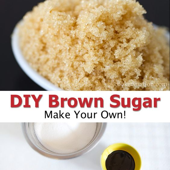 DIY brown sugar is easy, fun, and way cheaper than store bought! You will be amazed how flavourful it is.