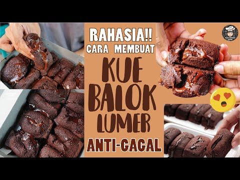 Bongkar Resep Kue Balok Lumer Anti Gagal Takaran Sendok Youtube Kue Ide Makanan Makanan