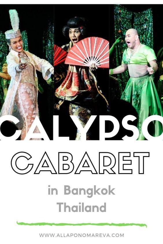 [Chia sẻ] Du lịch Calypso Cabaret Show, Bangkok, Thái Lan