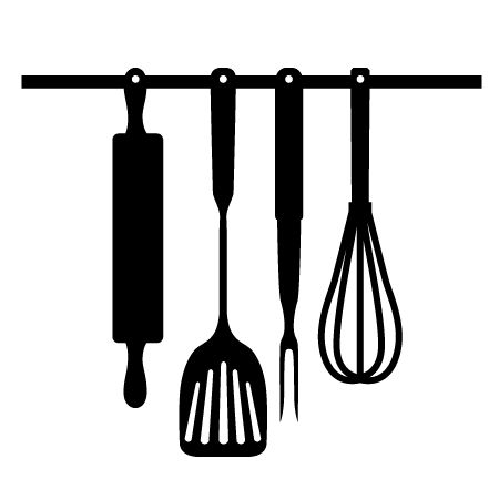 Kitchen utensils svg svg 39 s for make the cut pinterest for Art cuisine evolution 10 piece cooking set