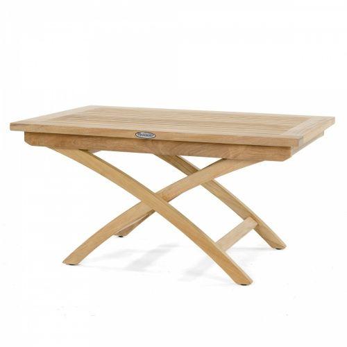 Folding Teak Garden Coffee Table