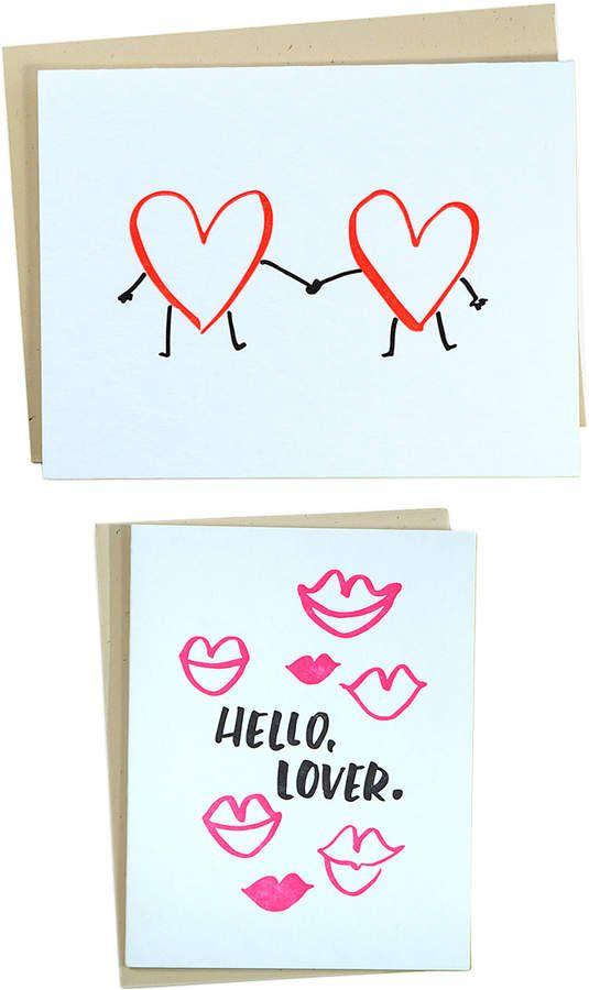 Kiss Kiss Kiss Greeting Cards