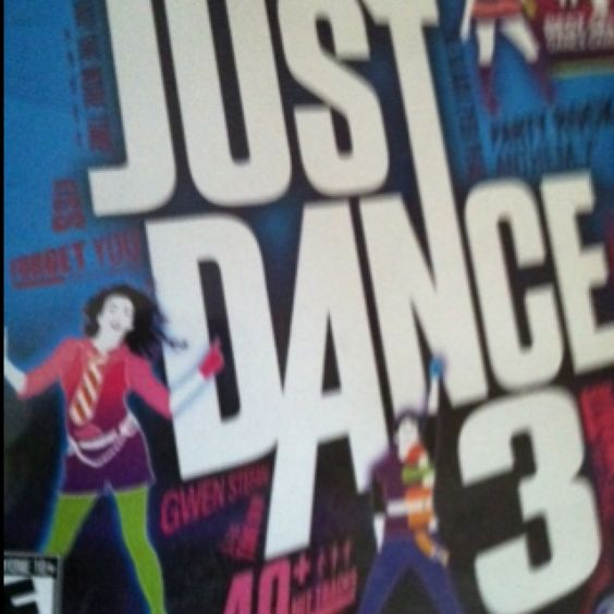 Just dance 3 (A.K.A. The best JD yet)