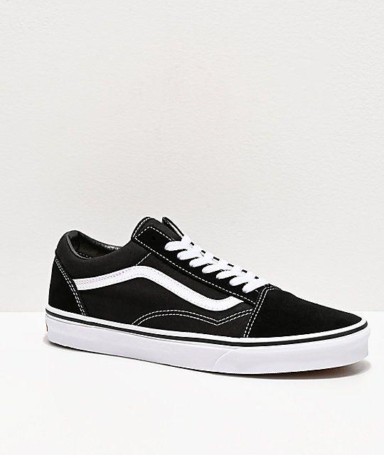 Vans Old Skool Black White Skate Shoes Vans Old Skool Old Skool Black Skate Shoes