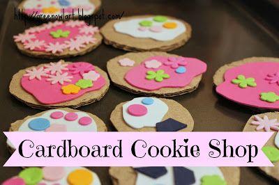 Cardboard Cookie Shop