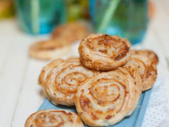 Roulés apéritifs dinde et fromage, Recette par MarineisCooking - Ptitchef