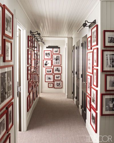 How to Hang Art and Photos - Artwork and Photo Display Ideas - ELLE DECOR