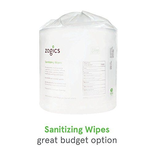 Zogics Hand Sanitizing Wipes Fda Approved Surface Wipes And Hand