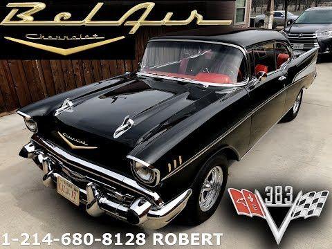 1957 Chevrolet Bel Air For Sale 55 000 Youtube Chevrolet Bel