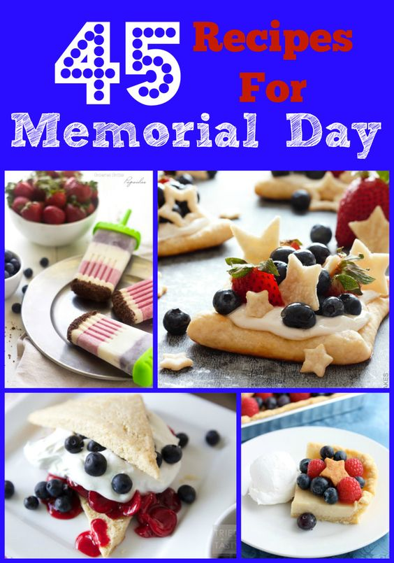 45 Recipes for Memorial Day - Poet in the Pantry