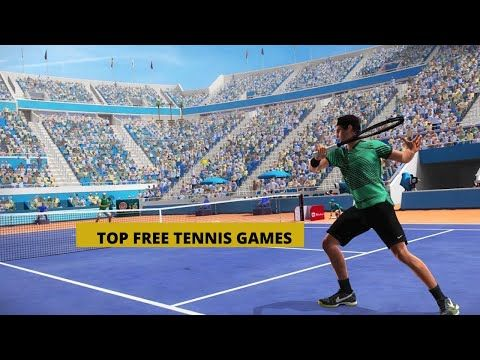Top 5 Free Tennis Games Tennis Games Ps4 Tennis Games For Beginners Youtube Kids Tennis Tennis Games Ps4 Games