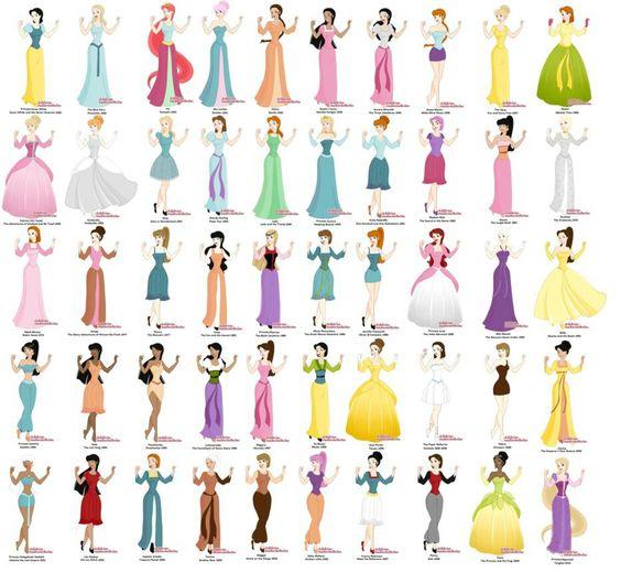 Princess maker- Disney's 50 byFailinginart