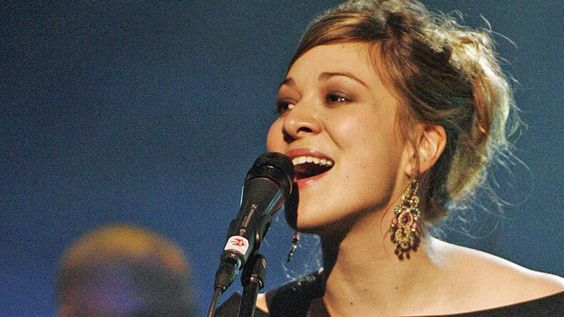 Jill Barber, Canadian Chanteuse and song writer.  Photo courtesy of the Globe and Mail.