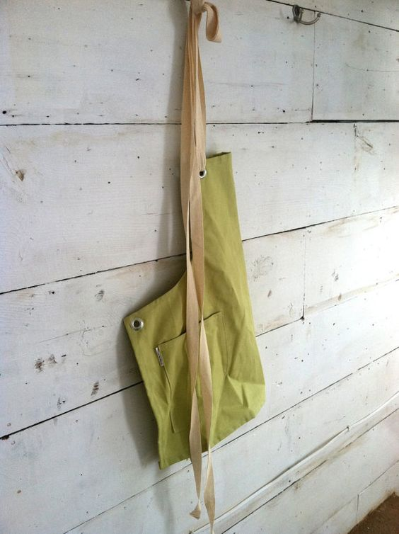 Canvas Utility Apron for Him or Her in the Kitchen Workshop Studio in Canvas Apron No. 1