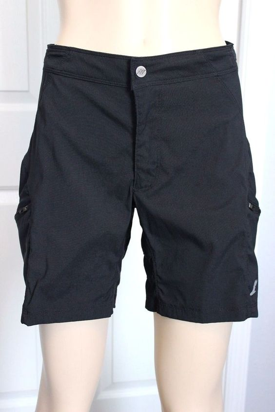 EMS Eastern Mountain Sports Women's Black Nylon Hiking Fishing Cargo Shorts S in Clothing, Shoes & Accessories, Women's Clothing, Shorts | eBay