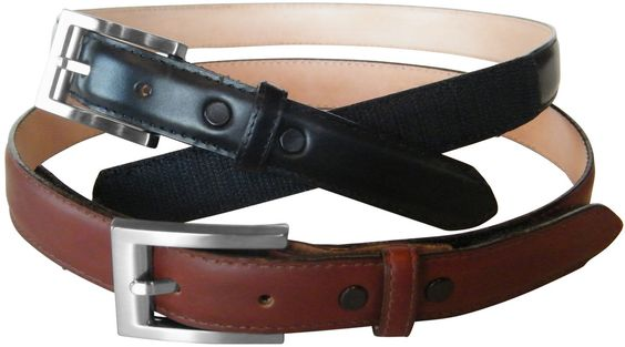 AbleBelts close with Velcro fasteners - easier/faster to put on and take off