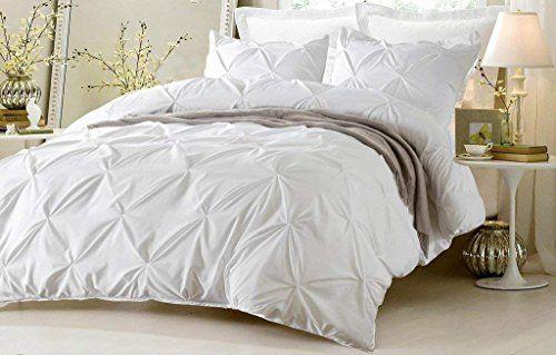 Kotton Culture 1000 Thread Count Pinch Pleated Duvet Cove Https Www Amazon Com Dp B072mjh89t Ref Cm Sw R Pi Duvet Bedding White Bed Set Queen Bedding Sets