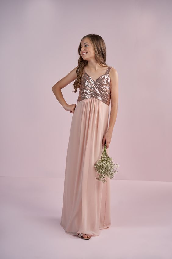 Rose Gold Junior Bridesmaid | B2 style
