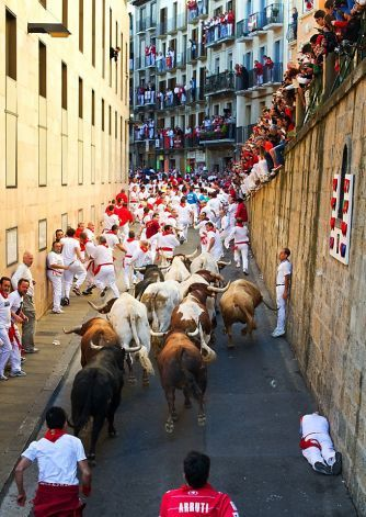 hemmingway july in pamplona Answer 1 of 10: i came to pamplona in 2011 for the fiesta of san fermin before  the trip i re-read the sun also rises by ernest hemingway so.