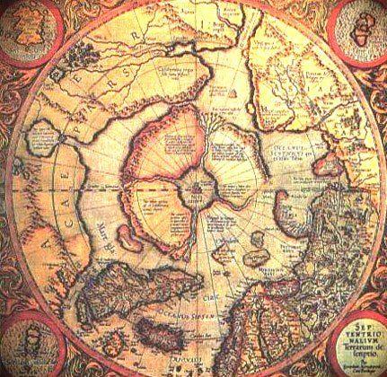 Mapa de Piri Reis fragmento