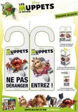 Pancarte de porte Les Muppets: entrez