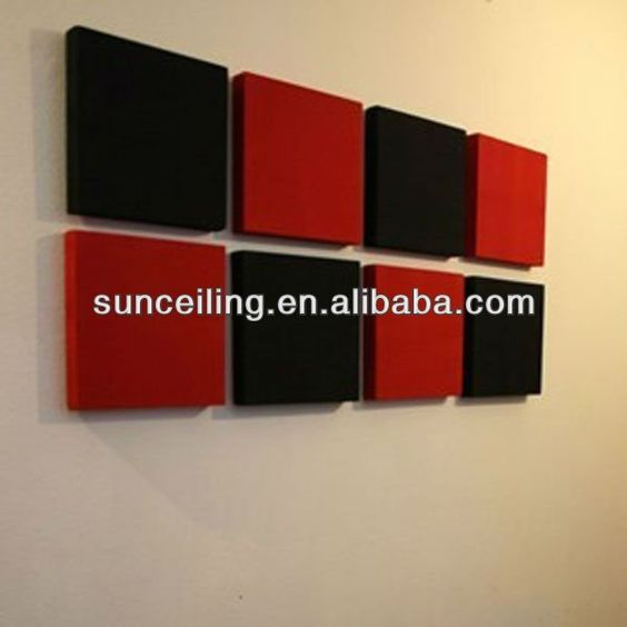 #acoustic wall panel, #fabric wrapped panels , #sound proof panels