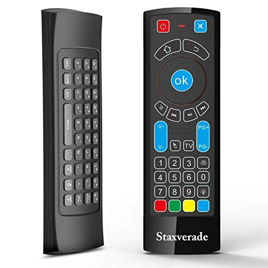 Bluetooth Remote Specifically Compatible With Amazon Fire Tv And Fire Tv Stick Air Remote Control With Keyboard Air Rem Bluetooth Remote Fire Tv Stick Fire Tv