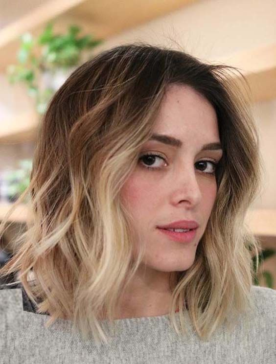 32 Best Short Blonde Textured Ombre Hairstyles in 2018