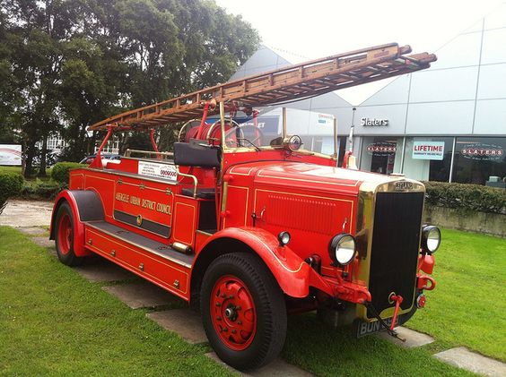 old fire engines   Vintage Fire Engine   Flickr - Photo ...