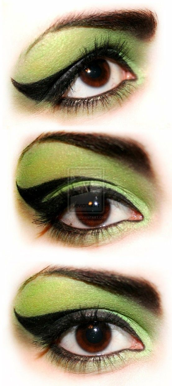 Awesome witch makeup