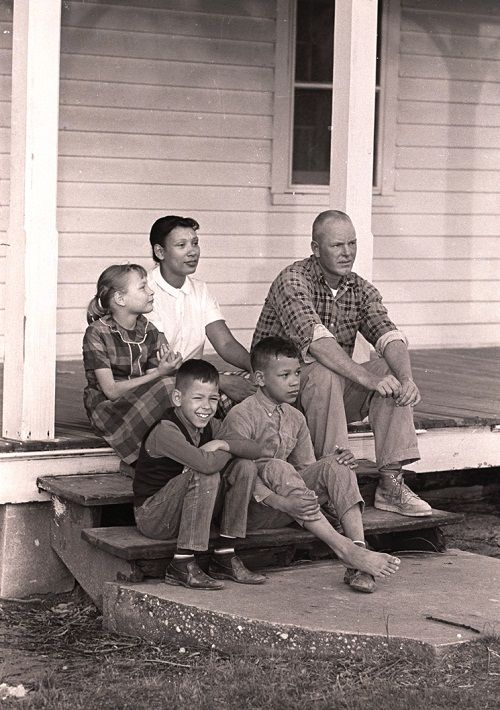 Loving biracial family back in the day. Robert and Mildred Loving , who helped change the U.S.