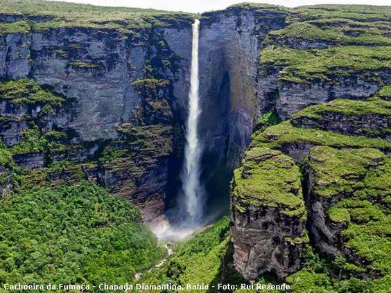 Cachoeira da Fumacinha - Capão (condado pertencente à cidade de Palmeiras-BA) - Chapada Diamantina