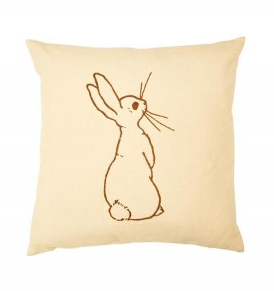 <3 bunny cushion by belle and boo
