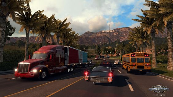 American Truck Simulator PC Game Screenshots