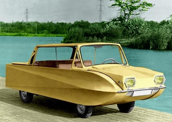 Katomobil 1966. Amphibious car built in the USSR.