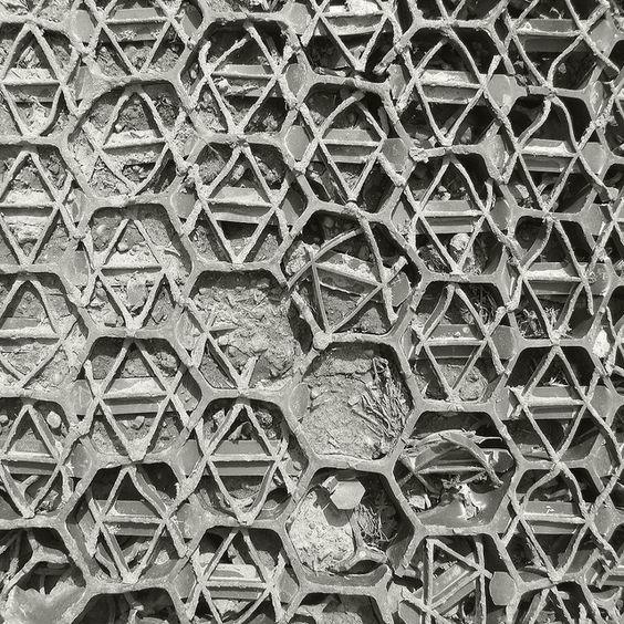 hexagonal shapes science math nature pinterest