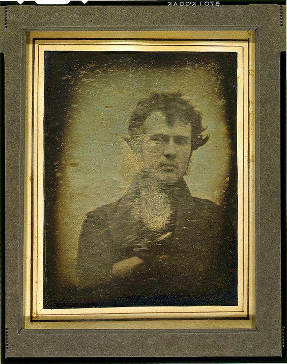 Robert Cornelious (1809-1893) • Self-Portrait, 1839