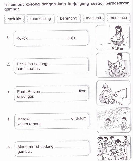 Gambar Kata Kerja Bahasa Melayu Cikimm Com